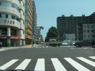 円山公園駅周辺の街並み