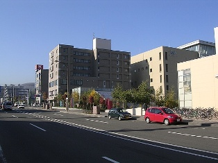 宮の沢駅周辺の街並み