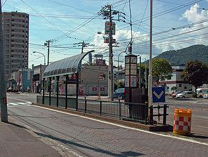 山鼻19条駅周辺の街並み