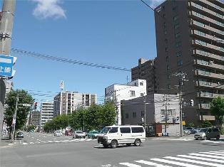 菊水駅周辺の街並み