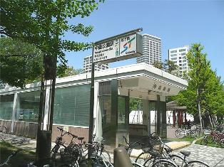 中島公園駅周辺の街並み