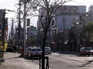 澄川駅周辺の街並み