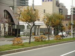学園前駅周辺の街並み