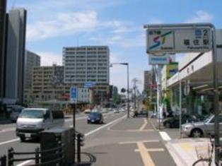 福住駅周辺の街並み