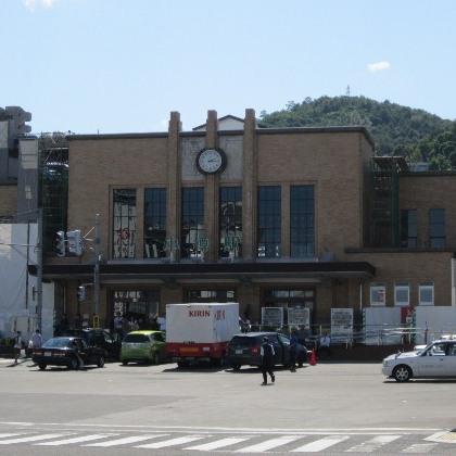 小樽駅周辺の街並み
