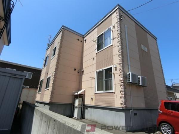 札幌市厚別区厚別西4条4丁目0賃貸アパート外観写真