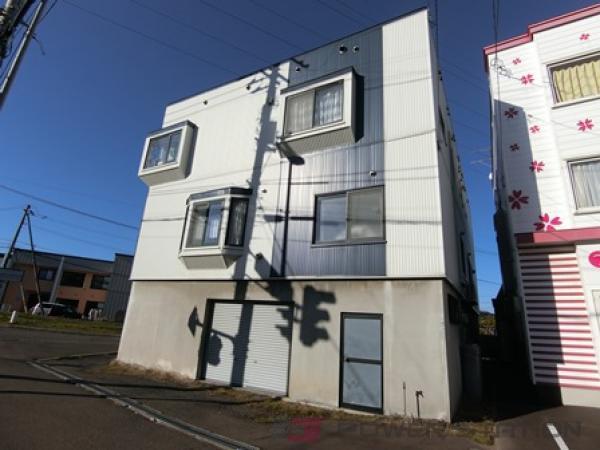 札幌市厚別区厚別西3条1丁目1賃貸アパート外観写真