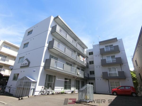 札幌市厚別区厚別東2条5丁目0賃貸マンション外観写真