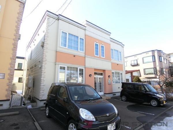 札幌市厚別区厚別西1条1丁目1賃貸アパート外観写真
