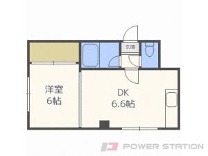札幌市厚別区厚別西1条2丁目0賃貸アパート間取図面