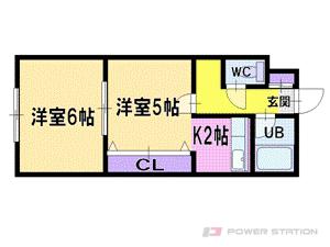 札幌市厚別区厚別中央4条3丁目1賃貸マンション間取図面