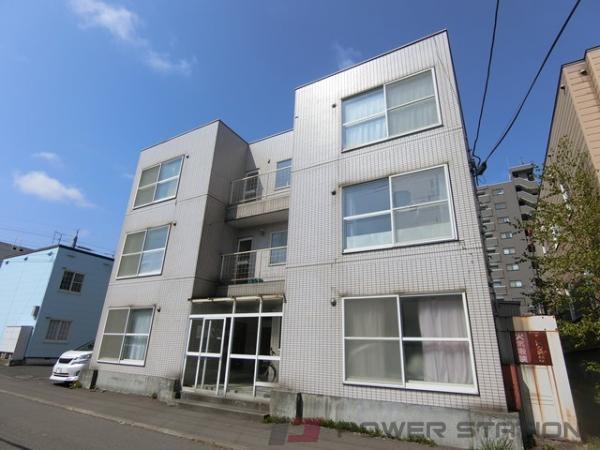新札幌1Rマンション外観