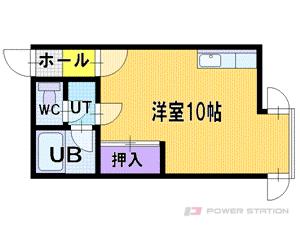 新札幌1Rマンション図面