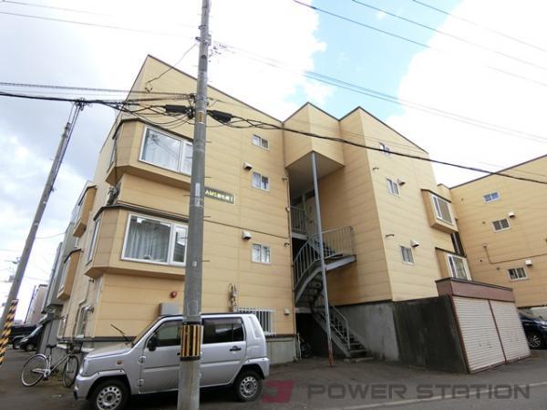 札幌市厚別区厚別中央3条4丁目0賃貸アパート外観写真