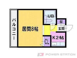 札幌市厚別区厚別中央4条5丁目0賃貸マンション間取図面