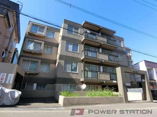 札幌市厚別区厚別中央5条5丁目0賃貸マンション外観写真