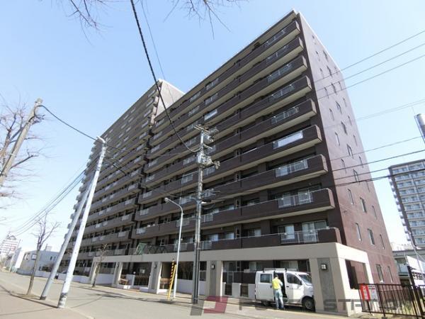 札幌市厚別区厚別中央2条6丁目0分譲リースマンション外観写真
