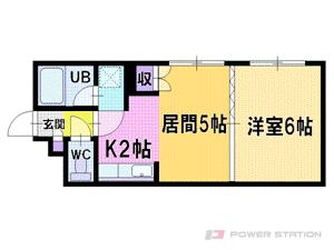 札幌市厚別区厚別中央4条2丁目0賃貸マンション間取図面