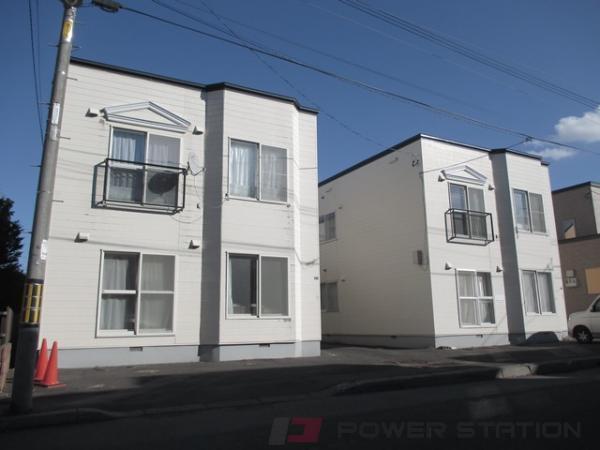札幌市厚別区厚別中央4条2丁目0賃貸アパート外観写真