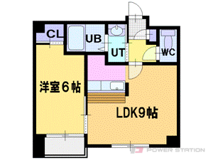 札幌市厚別区青葉町11丁目0賃貸マンション間取図面