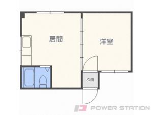 札幌市厚別区厚別中央1条2丁目0賃貸アパート間取図面