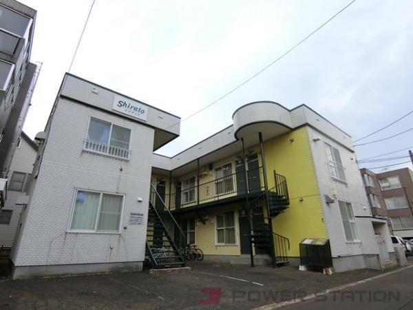 札幌市厚別区厚別中央1条2丁目0賃貸アパート外観写真