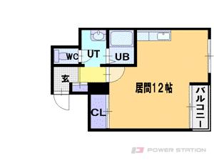札幌市厚別区厚別中央3条2丁目0賃貸マンション間取図面