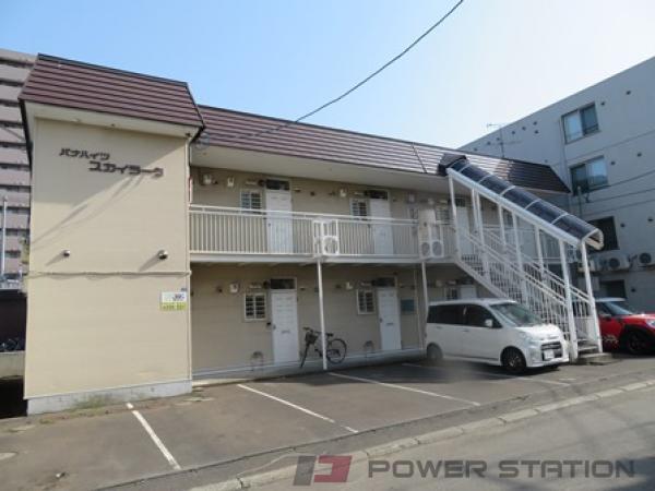 札幌市厚別区厚別中央1条2丁目1賃貸アパート外観写真