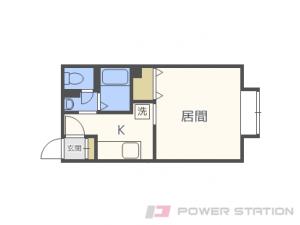 札幌市厚別区厚別中央1条2丁目1賃貸アパート間取図面