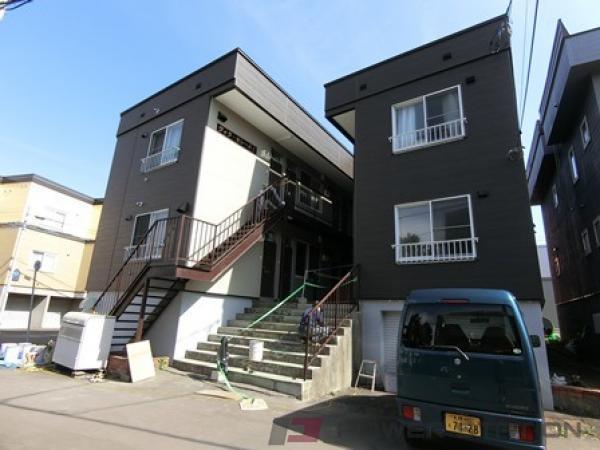 札幌市厚別区厚別中央1条3丁目1賃貸アパート外観写真