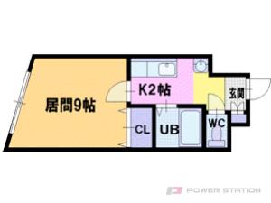 札幌市厚別区厚別中央2条1丁目0分譲リースマンション間取図面