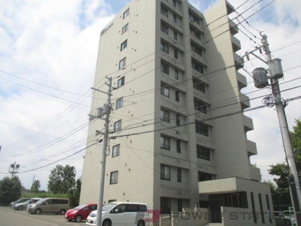 札幌市厚別区青葉町12丁目0賃貸マンション外観写真