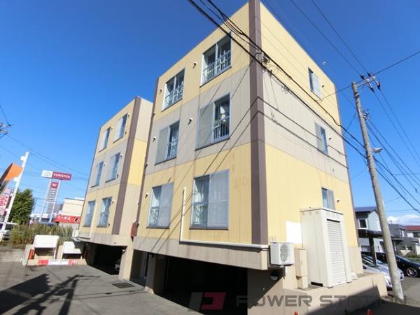札幌市厚別区厚別南4丁目0賃貸マンション外観写真
