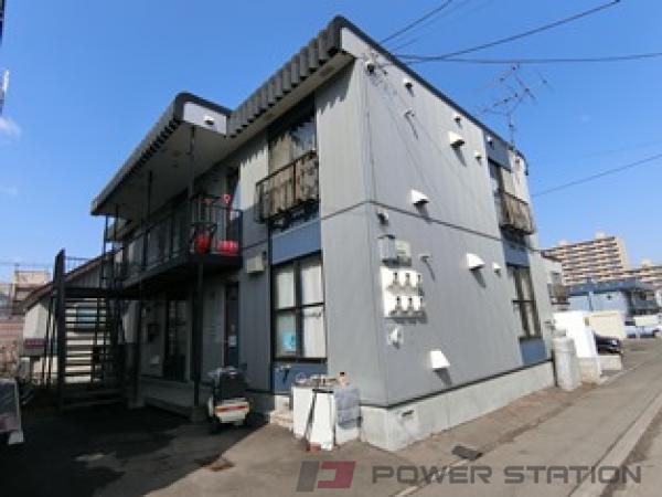 札幌市厚別区大谷地東5丁目0賃貸アパート外観写真