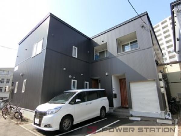札幌市厚別区大谷地東5丁目0テラスハウス外観写真