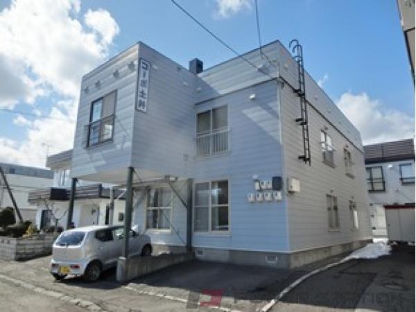 札幌市厚別区大谷地西6丁目0賃貸アパート外観写真