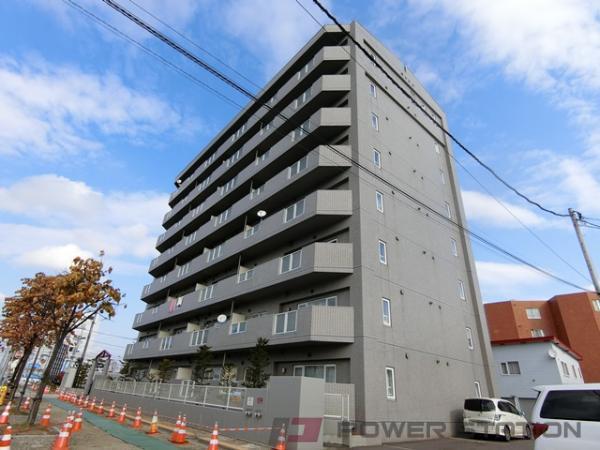 札幌市厚別区大谷地東2丁目0賃貸マンション外観写真