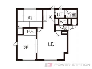 札幌市厚別区青葉町11丁目0賃貸アパート間取図面