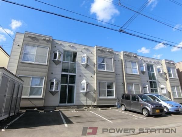 札幌市厚別区厚別中央3条3丁目0賃貸アパート外観写真
