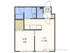 札幌市厚別区大谷地東5丁目0賃貸マンション間取図面