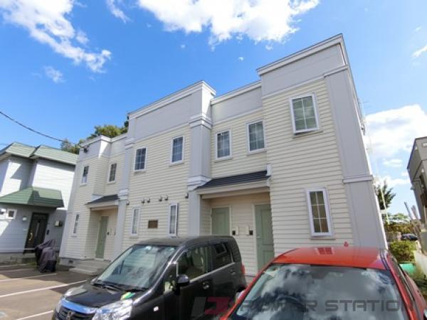札幌市厚別区大谷地西4丁目1テラスハウス外観写真