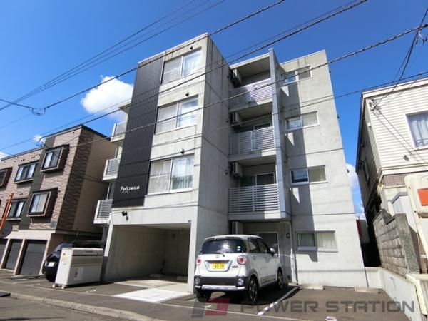 札幌市厚別区青葉町4丁目0賃貸マンション外観写真