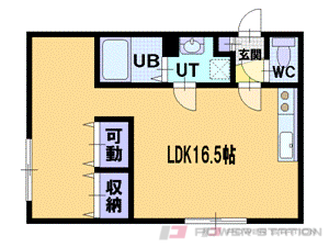 札幌市厚別区厚別中央3条2丁目1賃貸マンション間取図面