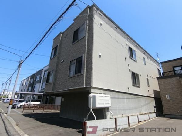 札幌市厚別区厚別西2条1丁目1賃貸アパート外観写真