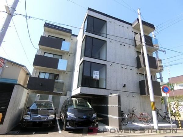 札幌市厚別区青葉町4丁目1賃貸マンション外観写真