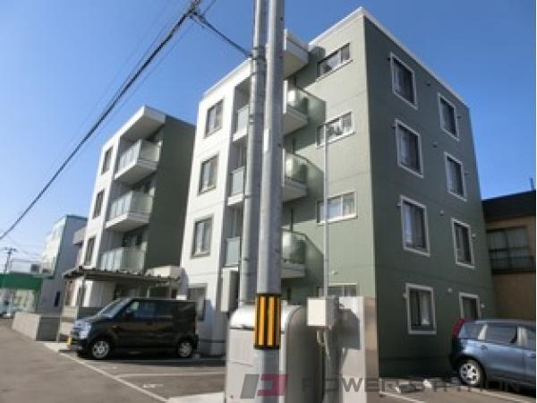 札幌市厚別区大谷地西4丁目0賃貸マンション外観写真