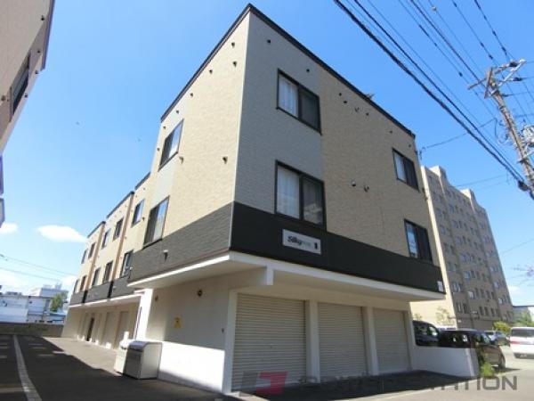 札幌市厚別区厚別東4条1丁目0賃貸アパート外観写真