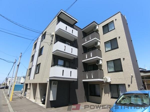 札幌市厚別区厚別東3条3丁目1賃貸マンション外観写真