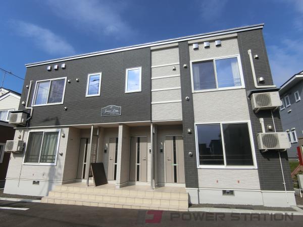 札幌市厚別区厚別西4条3丁目0賃貸アパート外観写真