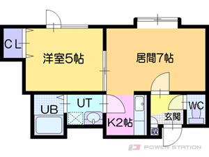 札幌市厚別区厚別東4条4丁目0賃貸アパート間取図面